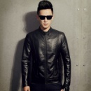 Куртка искусственная кожа, кожаная куртка, чоловіча куртка
