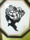 Картина «Дама» монохром