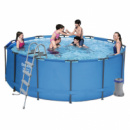 Каркасный бассейн MAX Bestway 56420, 366 х 122 см (2 006 л/ч, лестница, тент, подстилка)