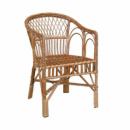 Кресло Для отдыха-7 ЧФЛИ 58х56х85 см Лоза Светло-коричневый (k00001)