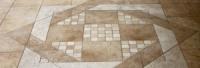 Облицовка полов художественной керамической плиткой