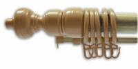Карниз Бук с пластиковой фурнитурой