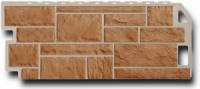 Фасадная панель Fineber Камень Цвет Терракот