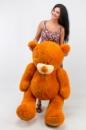 Плюшевый медведь Гриша 150см Светло-коричневый