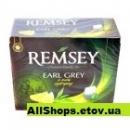 Чай REMSEY Earl Grey Cytryny 75пак