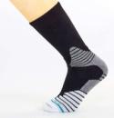 Носки баскетбольные(40-46) DMX7253-1 черный