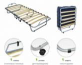 Кровать - раскладушка ортопедическая на ламелях, с матрасом
