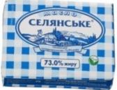 Масло сливочное «Селянское» 73% 200г