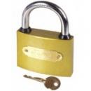 Навесной замок MONGOOSE тяжелый желтый крест.ключ 38.50.63.75 мм