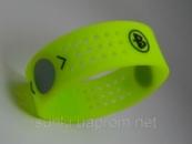 Силиконовый энергетический браслет c голограммой Power Balance Evolution салатового цвета размер S