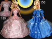 Бальные, вечерние и свадебные платья для кукол Барби