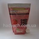 Сывороточный протеин 65% БИОС 1 кг (Клубника)