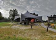 Шатер в аренду, палатка на прокат «Спайдер» аренда шатра на 50-100 человек Киев.