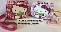 Детская сумочка Hello Kitty Хелло Китти 2 вида малиновая, розовая