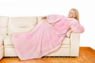 Плед с рукавами «Pink sleepy»