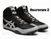 БОРЦОВКИ ASICS SNAPDOWN 2 BLACK/SILVER J703Y-001
