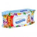Детские влажные салфетки Superfresh 120шт.