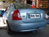 Тягово-сцепное устройство (фаркоп) Hyundai Accent (2006-2011)