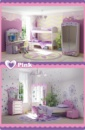 Комплект десткой мебели Pink