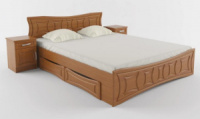 Двуспальная кровать «Созвездие» без ящиков.