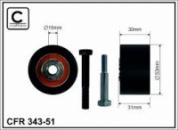343-51 Обвідний ролик ГРМ FIAT DOBLO 1.9D/1.9JTD 01-