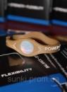 Power Balance Hologram энергетический браслет магнетик со стимулирующим эффектом коричневый XS