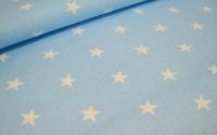 Ткань польская «Звезды на голубом» Арт 86