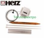 Термостатическая головка HERZ 40-70°С с выносным датчиком «Тепло-электро»