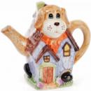 Чайник заварочный «Домик в деревне» Собака 750мл, керамический