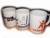 Друк логотипів на чашках