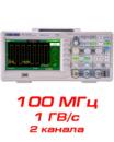 SDS1102CNL Цифровой осциллограф, 100 МГц
