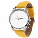 Часы наручные «Минимализм» желтый