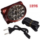 Фонарь налобный 13 LED 1898