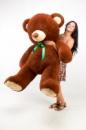 Плюшевый медведь Томми 200см Шоколадный