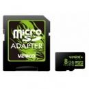 Verico MicroSDHC 8GB Class 4+SD adapter