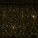 DELUX Curtain 456LED желтый/черный