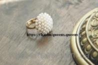 Кольцо «Нежность»  размер регулируется с жемчугом