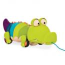 Игрушка-каталка «Крокодил Шелк-Клаус»