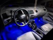 Диодное освещения салона Honda Civic 4D