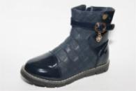 Ботинки демисезонные М561-2 для девочки тм С.ЛУЧ