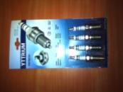 свеча зажигания bosch fr7dcx+ (комплект 4 штуки) для ВАЗ 2110-70 1.5-1.6 16 клананная