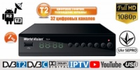 DVB-T/T2 World Vision T62А T2+INTERNET