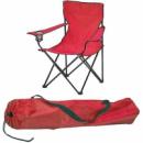 Кресло раскладное STENSON Паук с подстаканником Красное