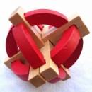 Головоломка деревянный Шар