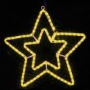 DELUX MOTIF Star желтый