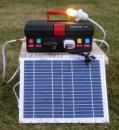 Туристическая солнечная электростанция S-10.