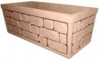 Вазон садово парковый бетонный «Великан» купить оптом недорого.