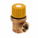 Предохранит.клапан для гелиосистемы 1/2 вв (6 бар) «Icma» №S120