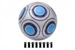 М`яч футбол. лакований «SILVER RINGS» (4-ох шарове покриття, латексна камера)