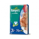 Pampers Active Baby 3 (4-9 кг) 70 шт